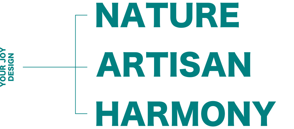 自然と匠の調和